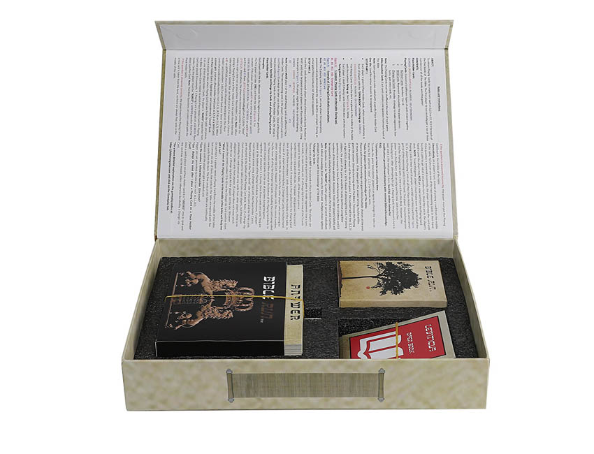 Book Shaped Paper Box