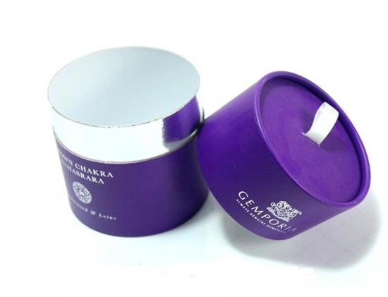 Round Candle Packaging Box